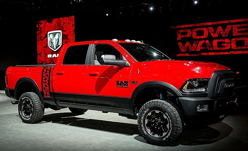 Ram Power Wagon правый бок