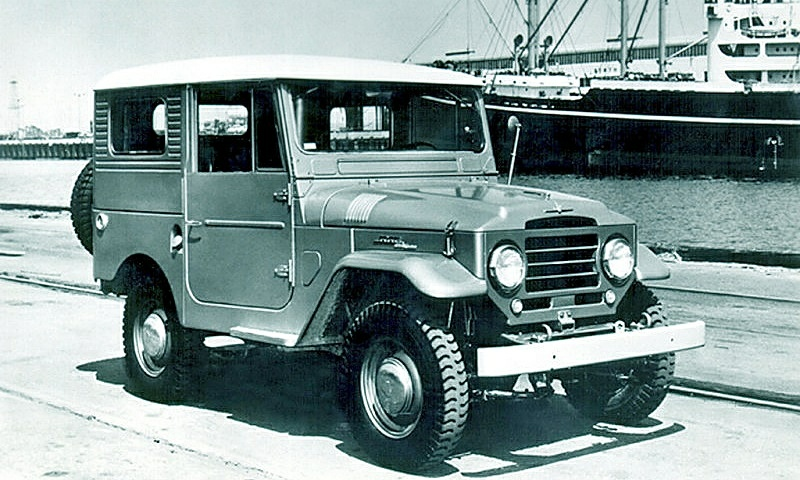 Toyota Land Cruiser - 1958